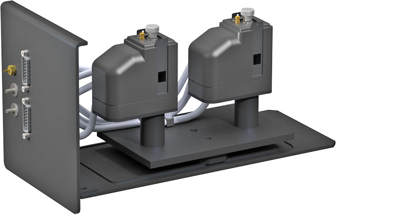 Dual temperature control for the Dynamica Halo DB-30 UV/Visible Double Beam Spectrophotometer