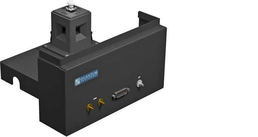 Temperature-controlled four-position turret sample changer for the Hitachi F-4500 or F 7000 Fluorescence Spectrophotometer