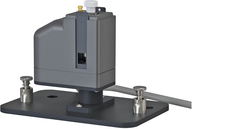 t2 Sport/8454 - Peltier-driven temperature-controlled cuvette holder for the Cary 8454 (or HP 8452 or 8453) Diode Array System